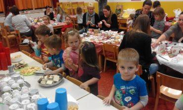Božićna radionica za roditelje i djecu skupine Sovice