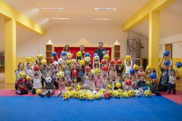 Donacija lopti Dječjem vrtiću Potočnica