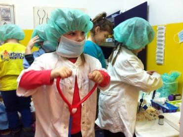 FOTO: Bubamare u ulogama liječnika i medicinskih sestara