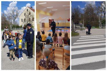 Edukativni posjet policijskih službenika Dječjem vrtiću Potočnica