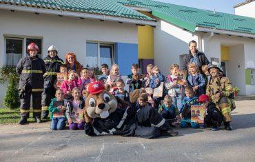 Dabar Virko zabavljao mališane u pitomačkom Dječjem vrtiću Potočnica
